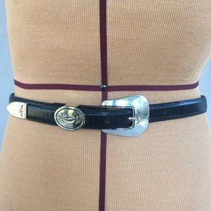 Justin Vintage leather western belt